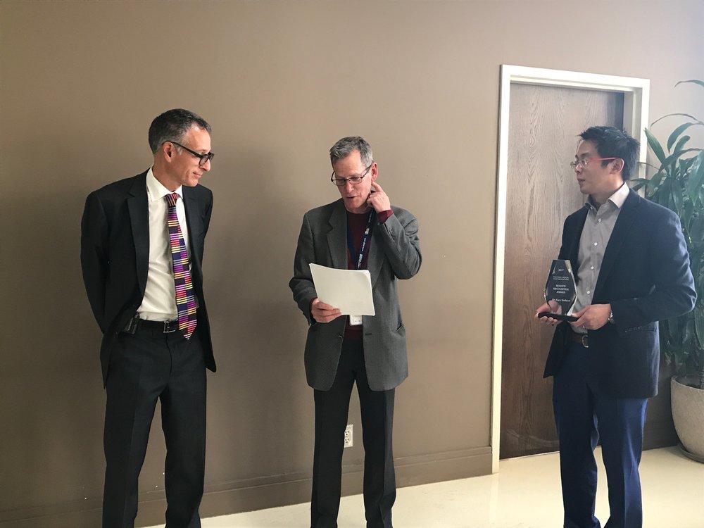 Dr. Gelfand, Dr. Fox, Dr. Chan.JPG