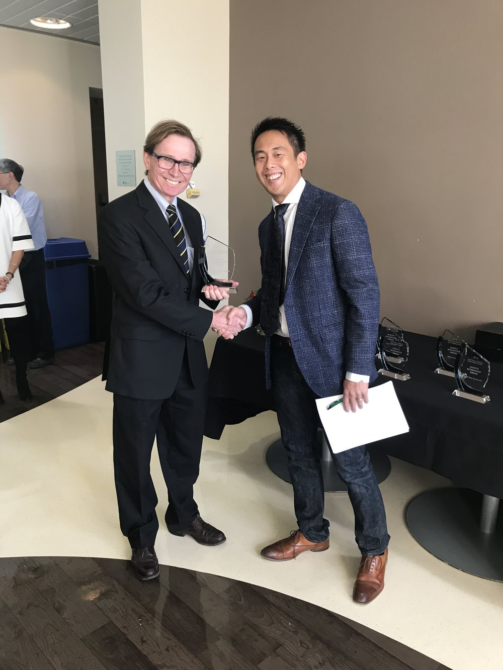 Dr. Ian Anderson & Dr. Trevor Chan
