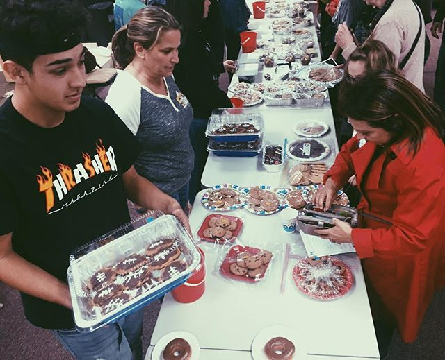 Super 🏈 bowl Sunday bake sale was a success!! Thank you everyone who baked or bought! So many students will be benefiting from scholarships to summer camp, conferences, and retreats because of your generosity. This means more students encountering the love of Jesus. This is all because you baked or bought and ate!  Now make sure you stuff your face with all the food and your brain with all the commercials!  NO JR. HIGH YOUTH TONIGHT!  See you next week 👋🏽