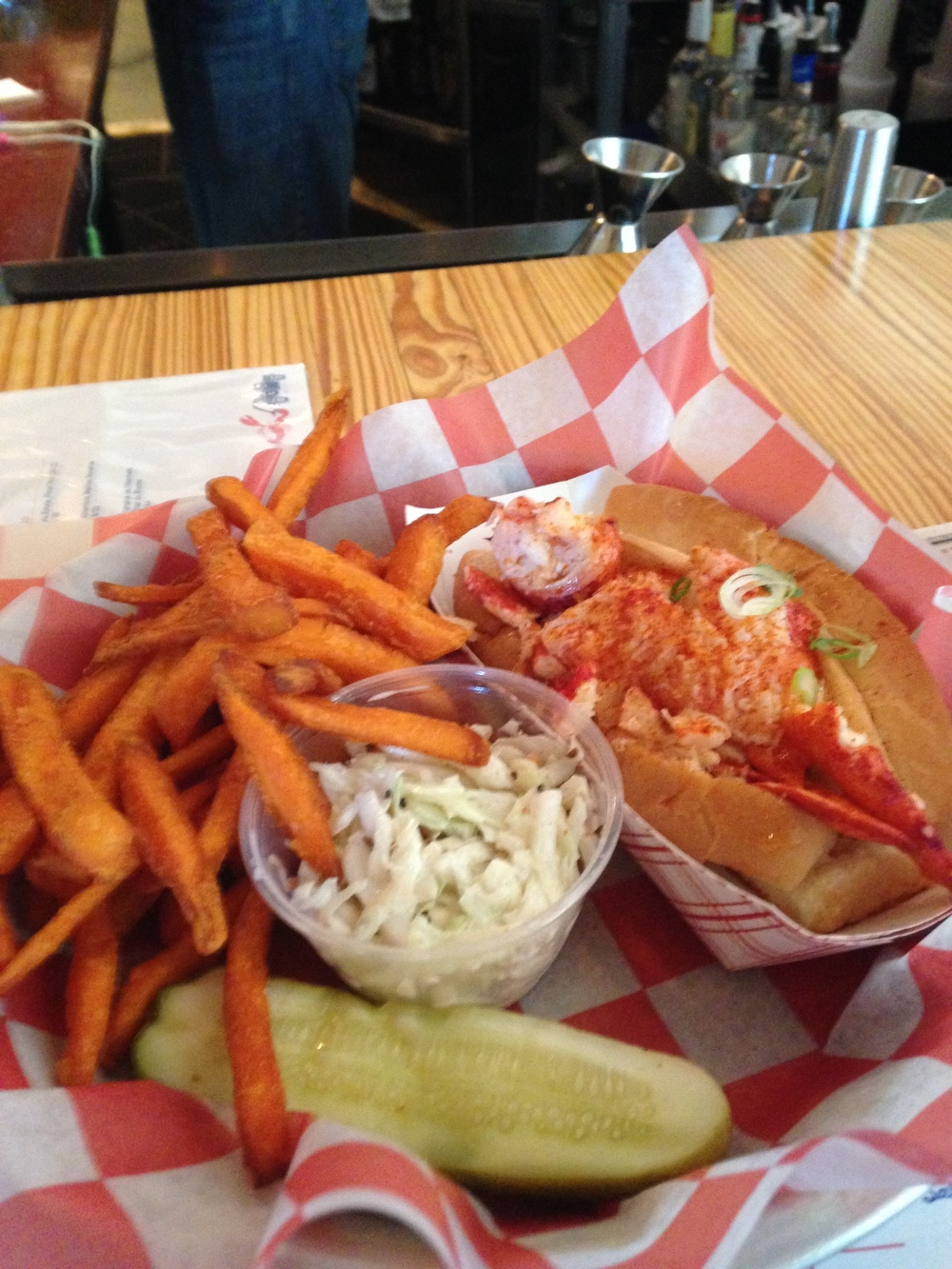 Oh how I love their CT. Lobster Rolls, Red Hook Lobster Pound....Brooklyn NY