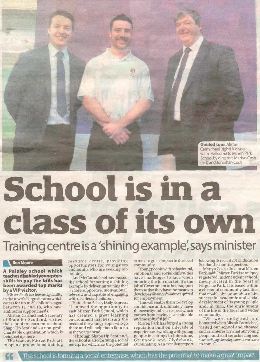 Paisley Daily Express, April 2015