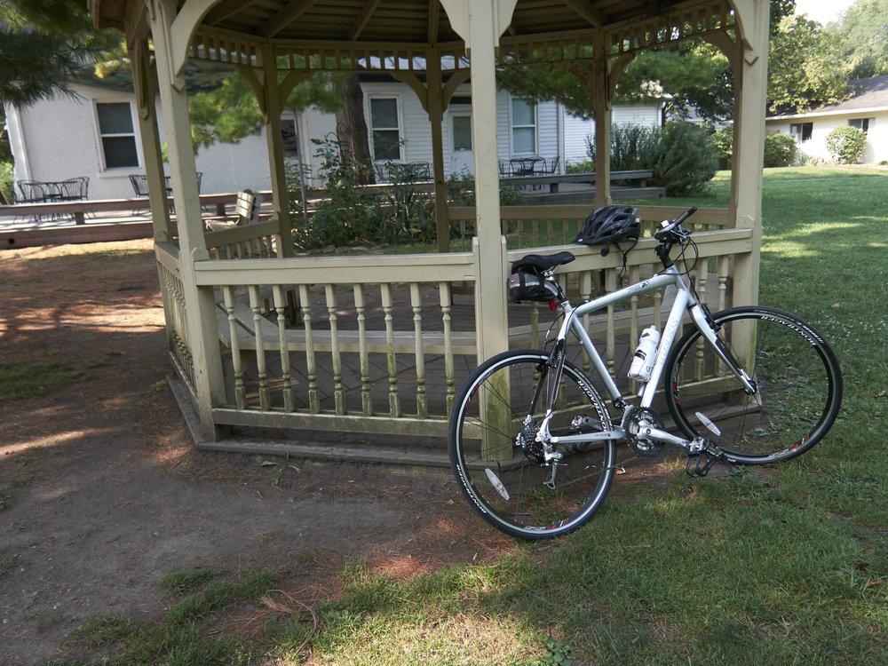 My Trek Hybrid Bike