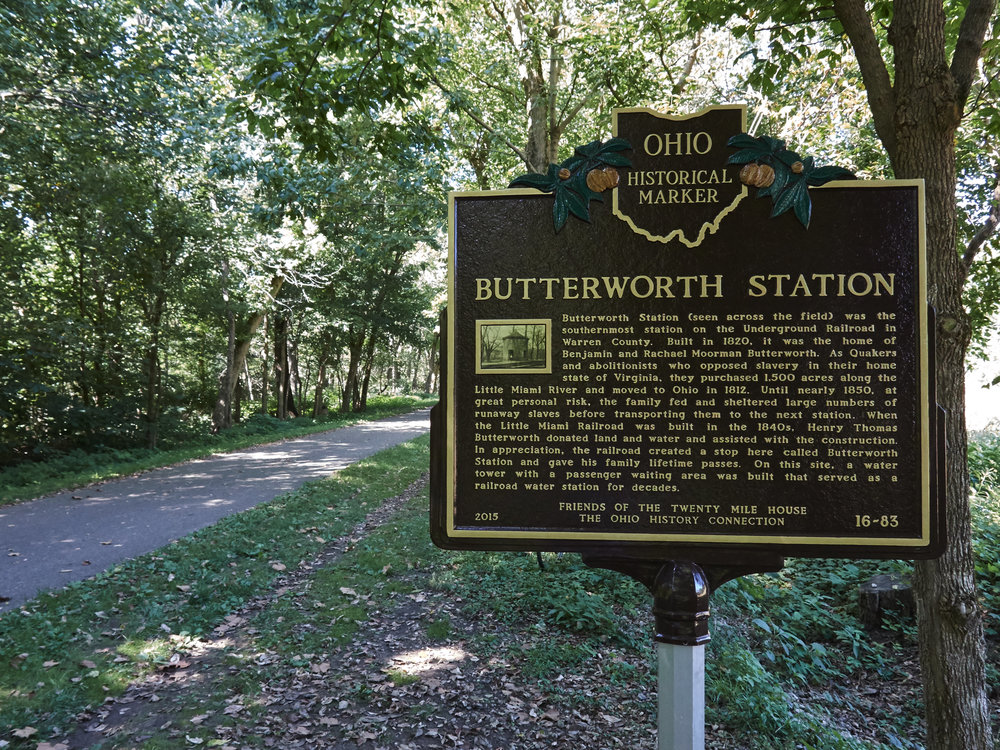 Underground railroad stop where runaway slaves were transported up north