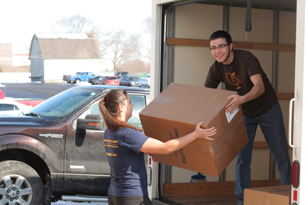 Storage - We store boxes, containers, furniture, refrigerators, TVs, bikes, artwork, cars:You name it, we can store it.