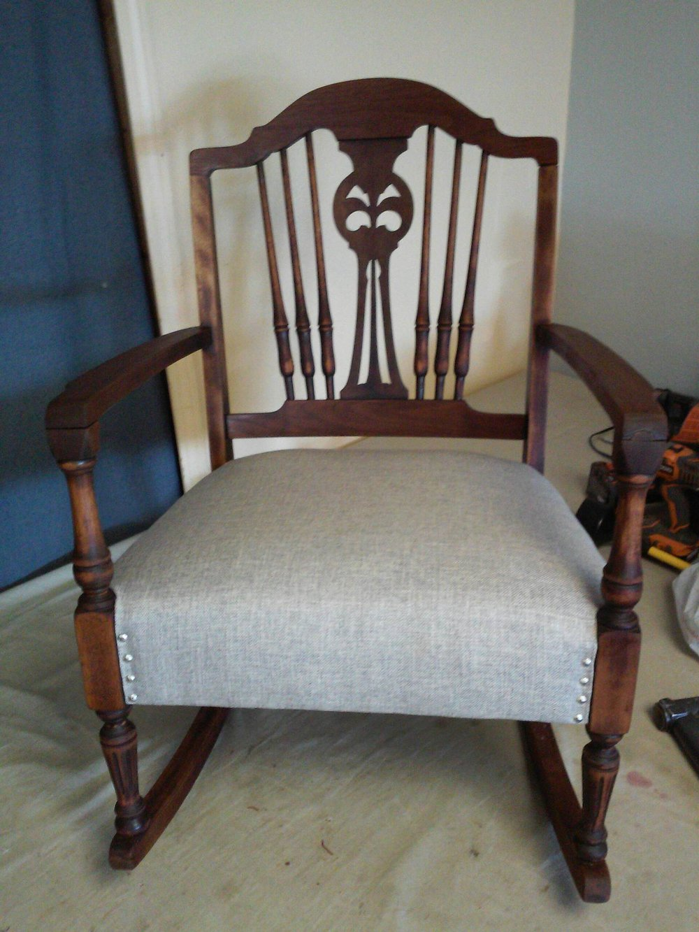Uphostered Chair by Eric's Upholstery Marshfield MO
