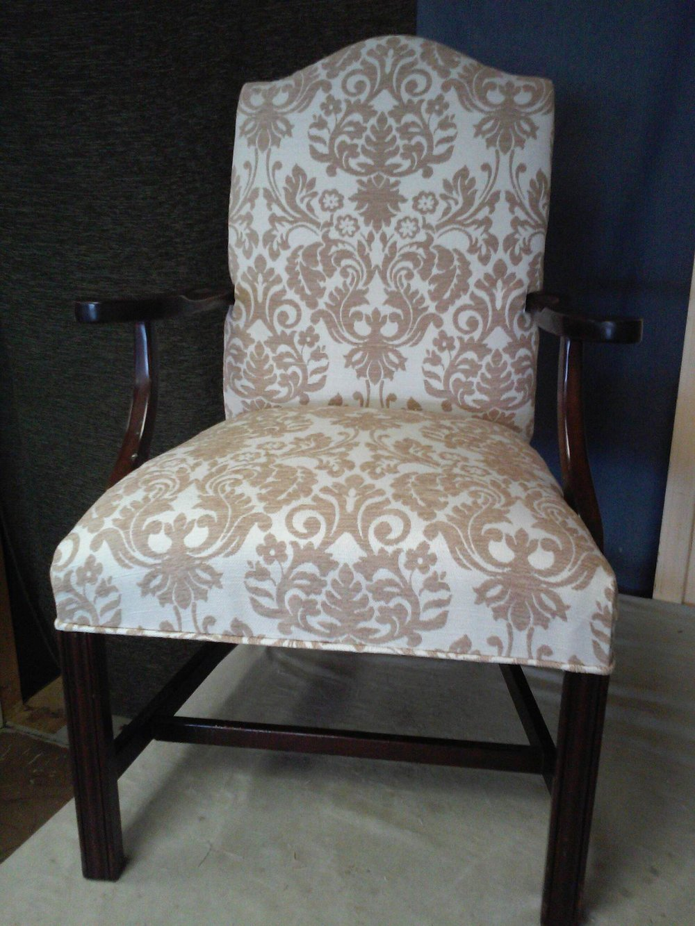 Chair upholstery by Eric's Upholstery
