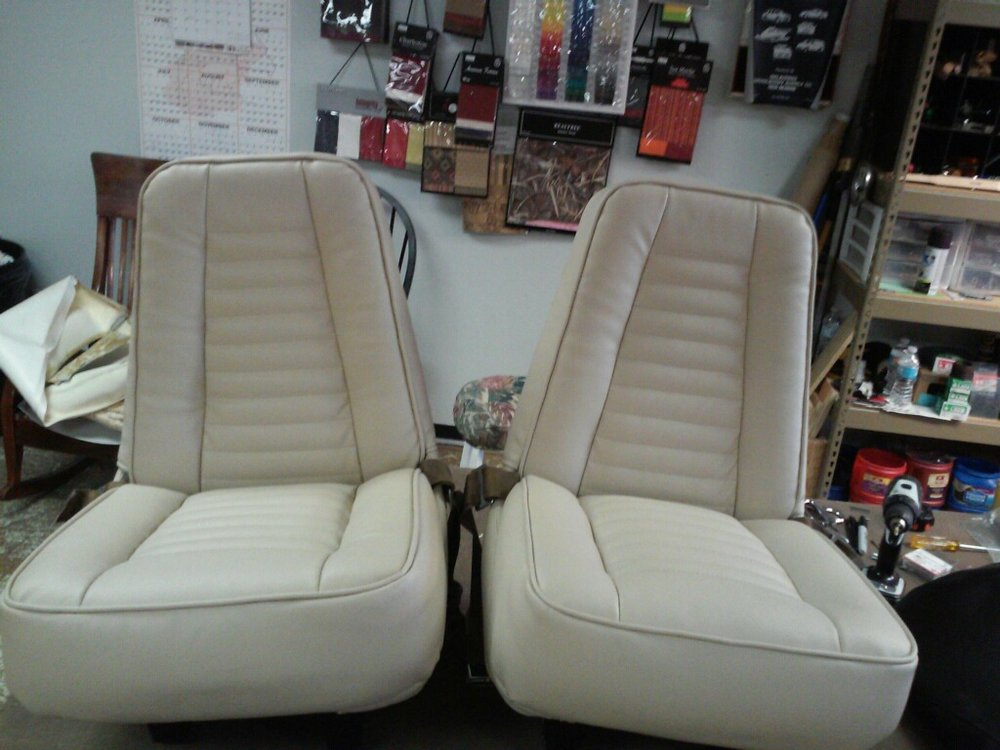 Plane Seats Upholstery by Eric's Upholstery
