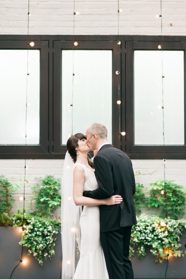 MARTHA STEWART WEDDINGS: Modern Brooklyn Wedding at 501 Union