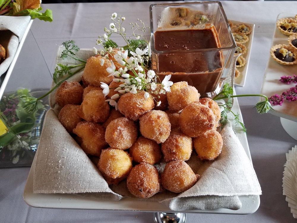 Ricotta donut holes
