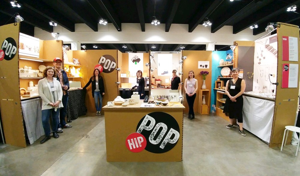 American Craft Council Show - Hip Pop Booth 1110 -  St Paul 2017