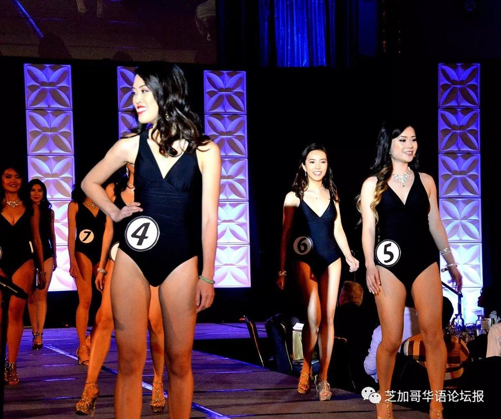 Contestant #6, Qin Fan slaying in swimwear!!!