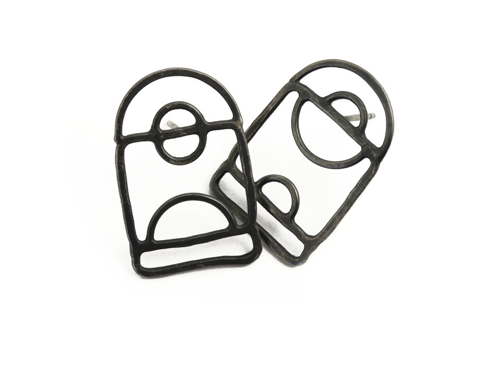Squares Earring