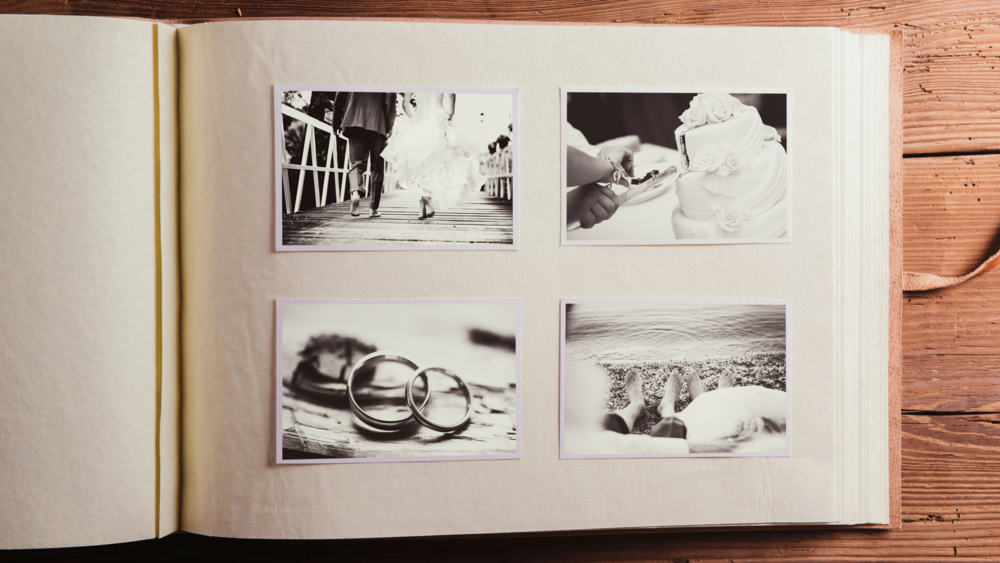 What This Stepmom Did With The Photo Album From Her Husband's First Wedding