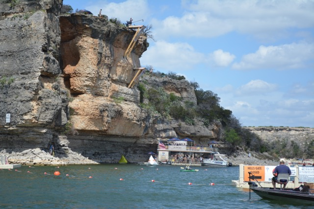 Red Bull Cliff Diving Event