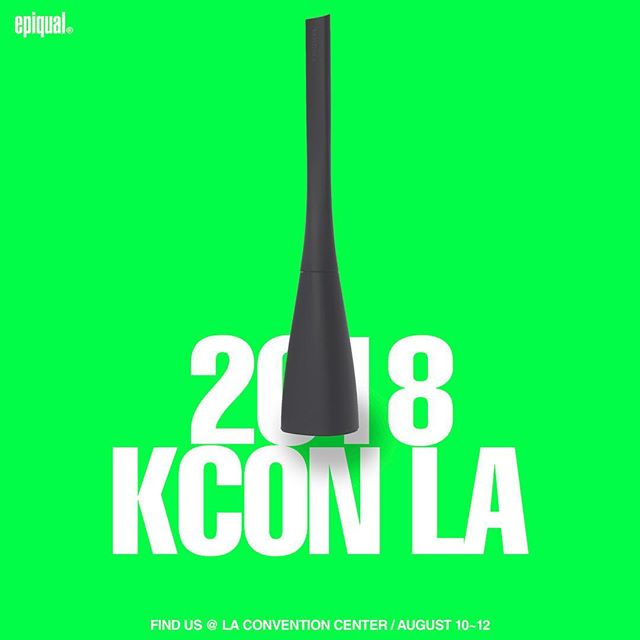 Hey, K-pop fans! Let's meet at KCON convention! Aug 10~12 ⚡️⚡️ #kcon2018la #kpop #kculture #kbeauty #epiqual #designertoothbrush