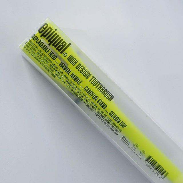 #epiqual #toothbrush #highdesigntoothbrush #neon