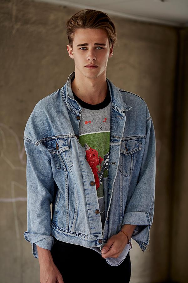 Oscar S- TwentyFive Model Mgmt/ Bristol Mens Fashion, Model