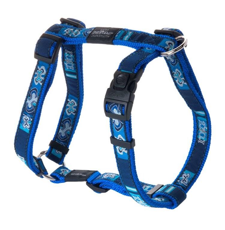 INDIGO BONES Dog H style Harness — ROGZ