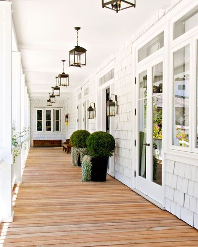 Take a look at a little front porch envy on our blog today! We're in love with all the details of this one especially.