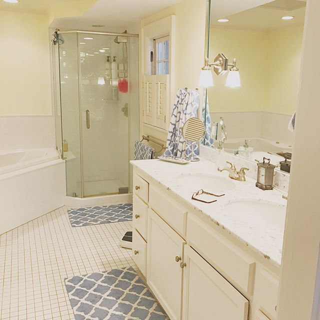 The before pictures of a bathroom remodel in a house built in the 1920's over in west end. We can't wait to show you how it turned out!