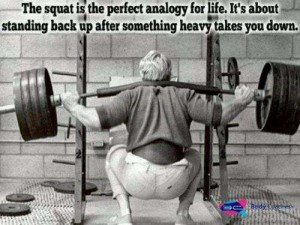 Squat analogy