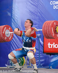 Power Clean Ilya
