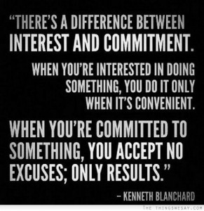 ken blanchard commitment