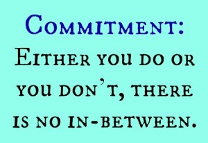 commitment-do or dont