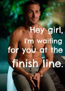 ryan gosling finish line
