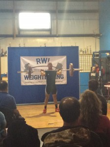 fred weightlifting meet