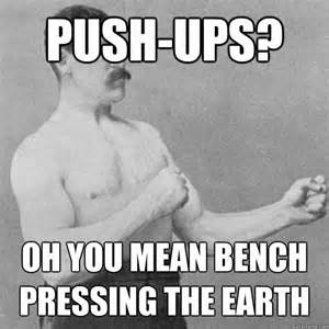 Bench Press Meme