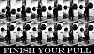 Snatch Pull