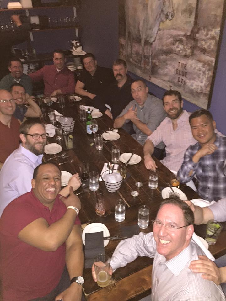 Gents of the Swamp Night Out at The Blue Ox
