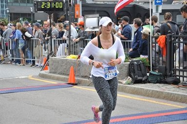 "Carmen CRUSHING Boston's ""Run To Remember"""