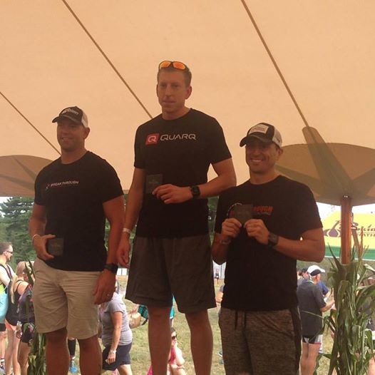 Congrats to Kevin Reen on hitting the podium at the Pumpkinman Triathlon!