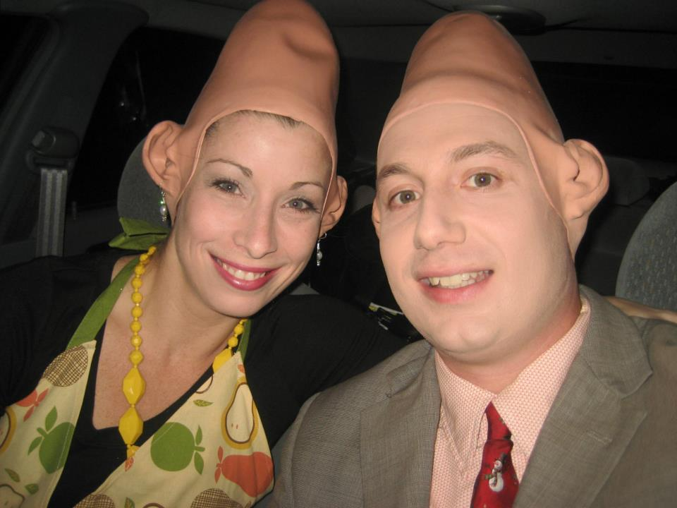Meet Beldar and Prymaat Conehead.....Absolutely KILLING it!