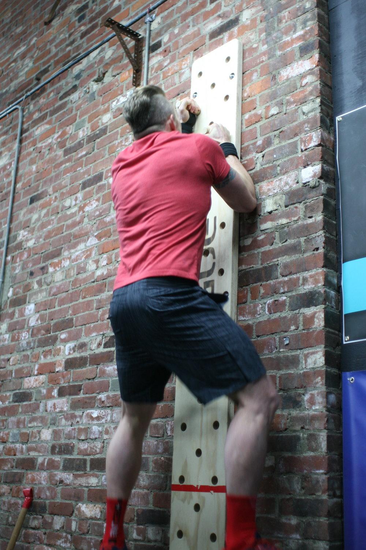 Jonny just climbing walls...NBD.
