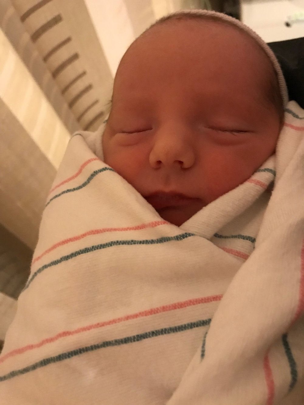 Say hello to Carter MacDerment…..Congrats Tom and family!!!!!!