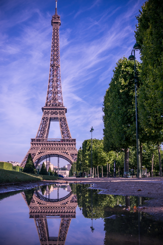 Eiffel Mirror - Paris, France
