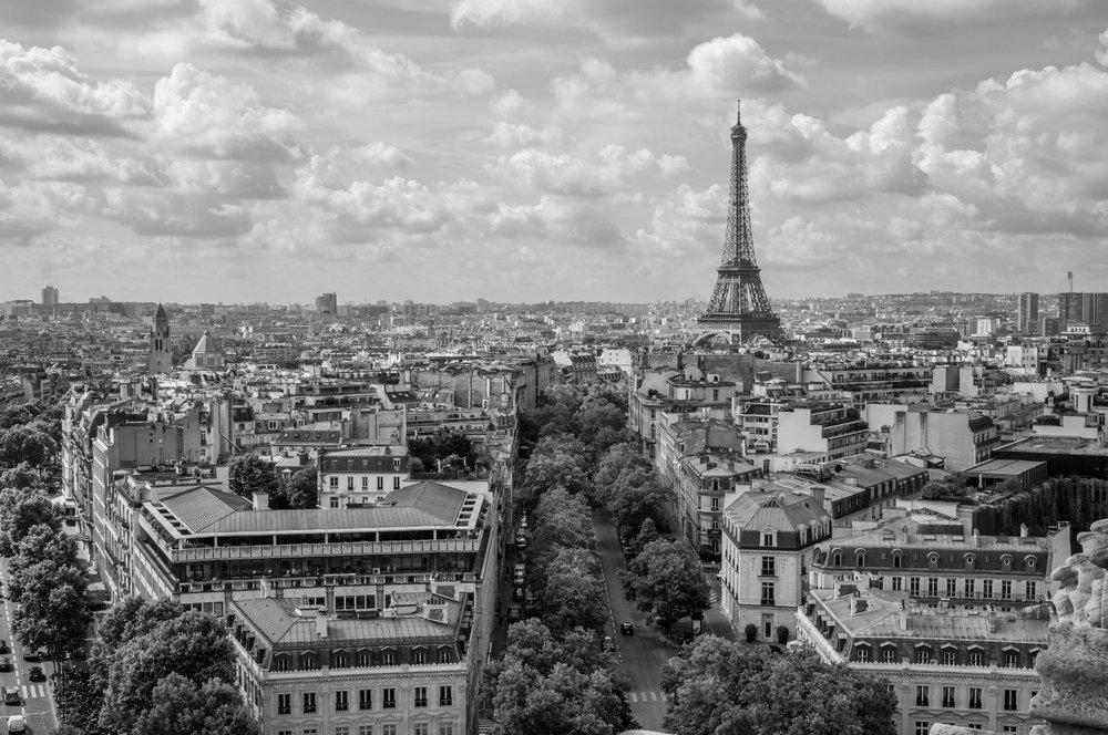 Clear Parisian Day - Paris, France