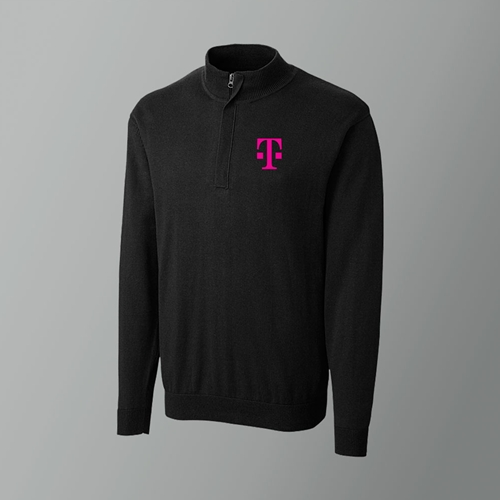 Half Zip Sweater - 40 points