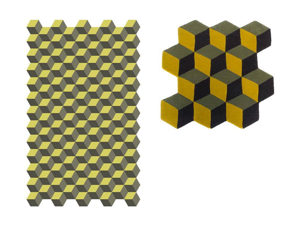 Geo Cubes  MP001 Artist:  Magdelena Pamula
