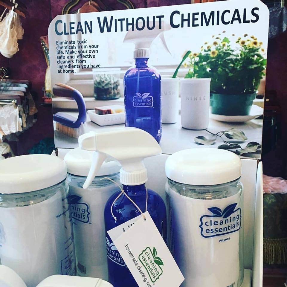 Products from Cleaning Essentials....now available at Her Story