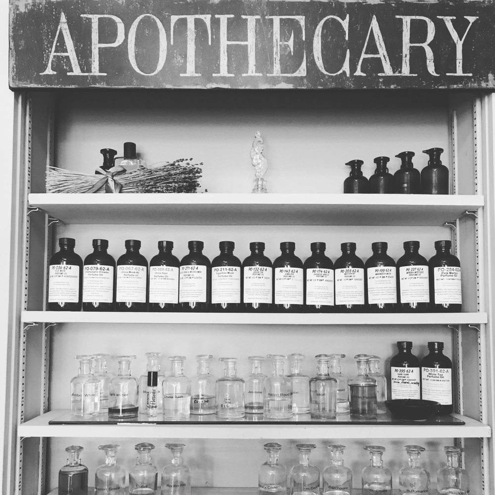 HOST A FRAGRANCE PARTY - AT OUR APOTHECARY