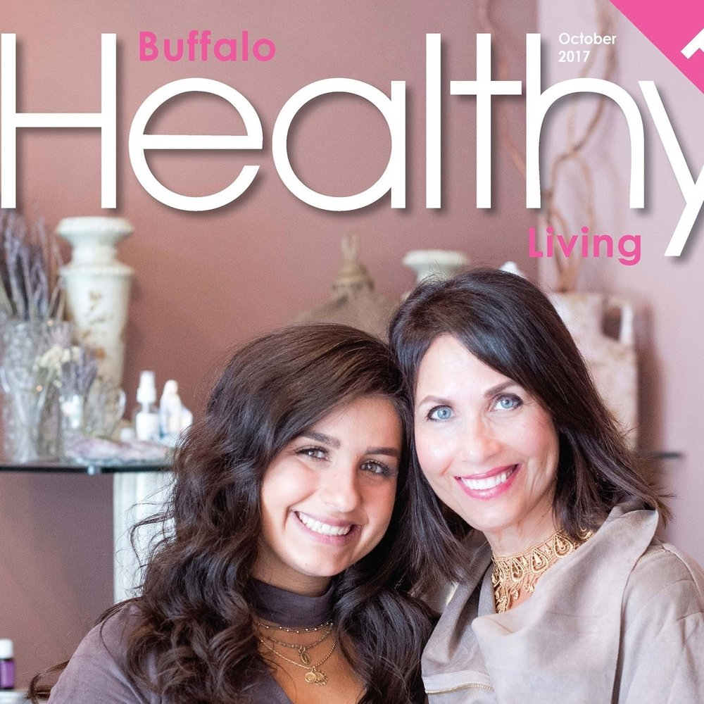 READ MORE ABOUT US IN OCTOBER'S BUFFALO HEALTHY LIVING - and learn more about our mission to help women on their journeys.