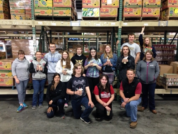 Cultivating Roots Summer Academy staff and students toured Coastal Harvest Food Bank last Thursday.