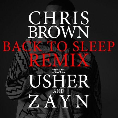 Chris Brown ft. Usher & Zayn  Back to Sleep Remix    Recording