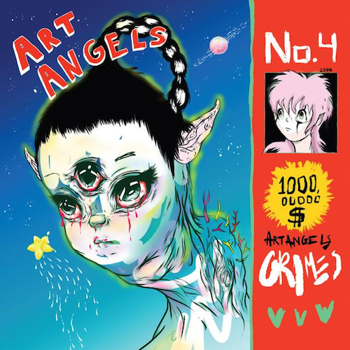 Grimes  Art Angels (Japanese Edition)    Mixing