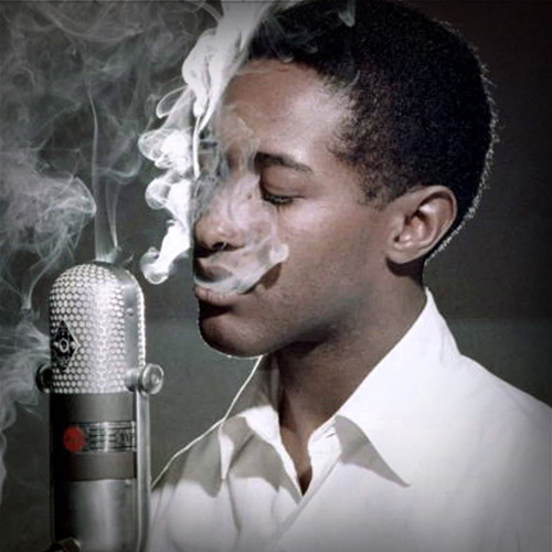 Sam Cooke, looking very cool indeed