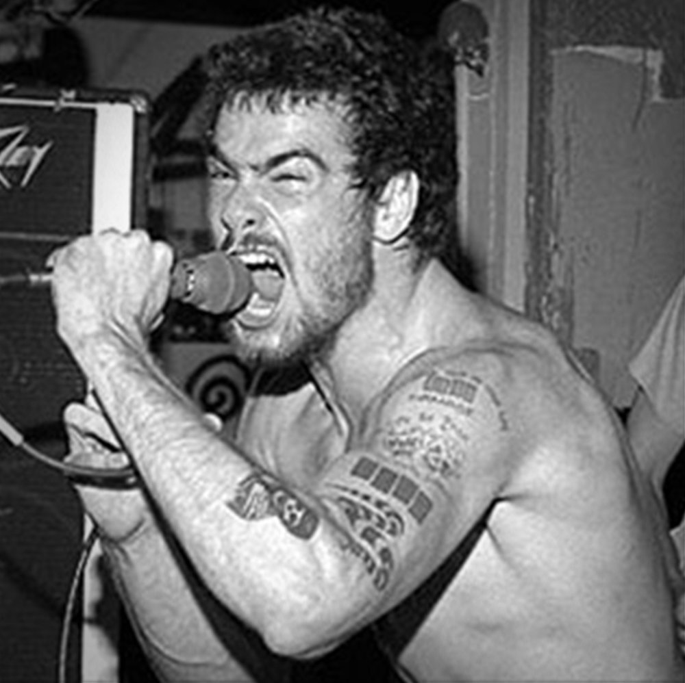 Henry Rollins at work